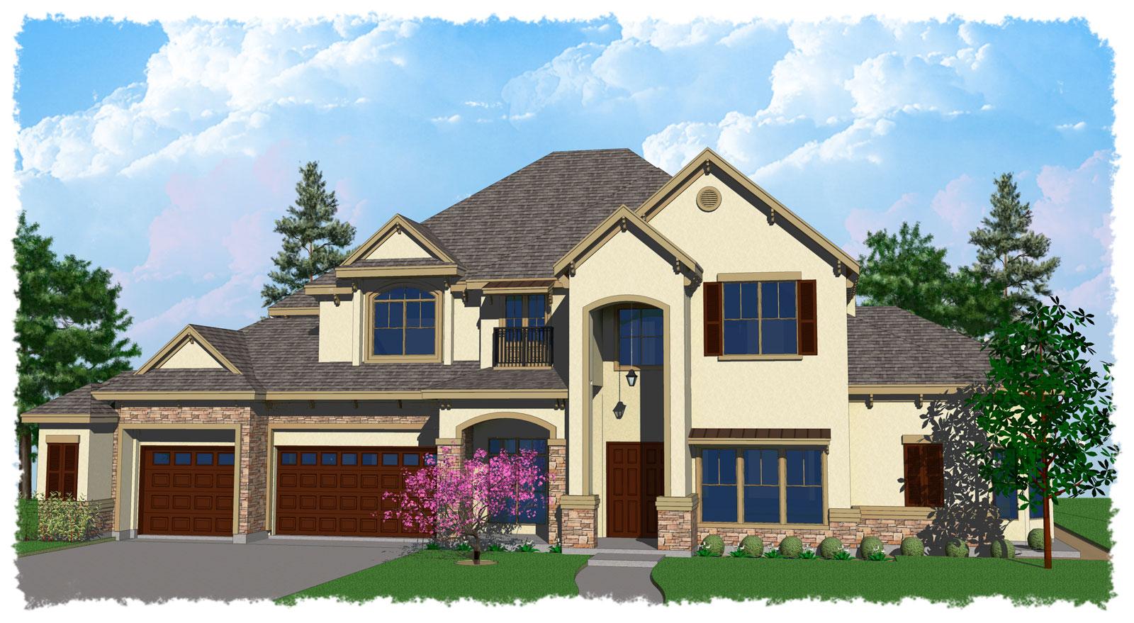Wood custom homes houston tx best free home design for Custom home plans houston